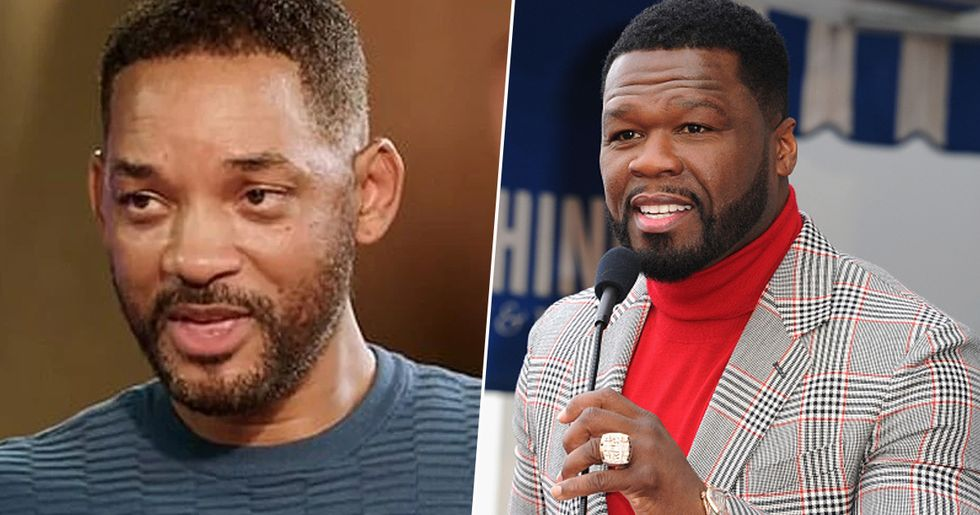 Will Smith Slams 50 Cent After Messages About Jada's Affair
