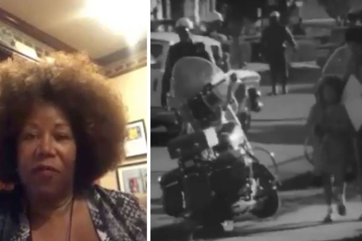 Ruby Bridges shares never-before-seen footage of protests on her historic first day of school