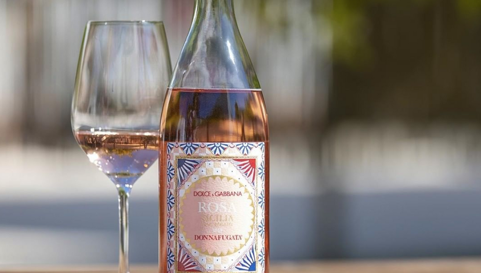 Dolce & Gabbana's New Rosé Wine Drop Is The ULTIMATE Summer Accessory