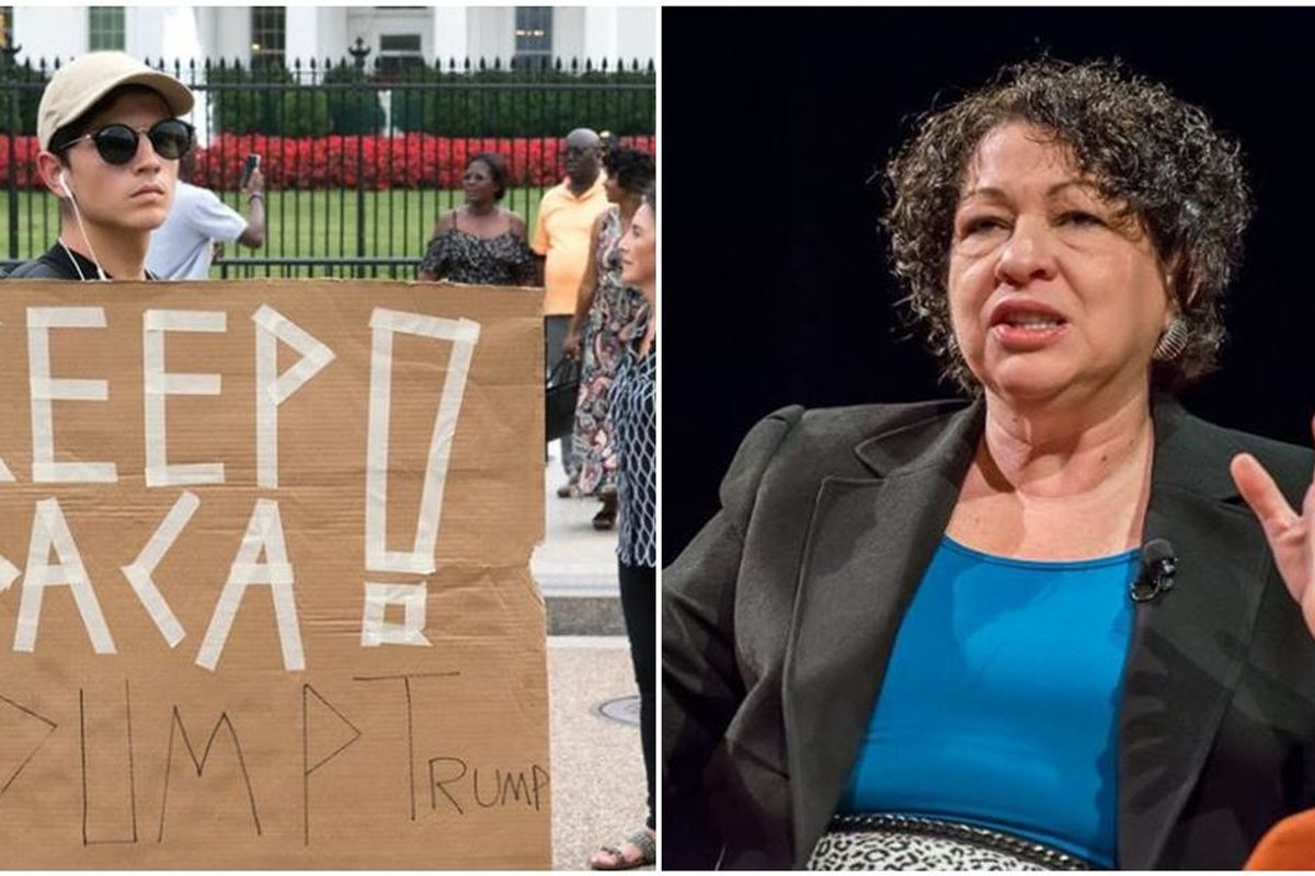 Sonia Sotomayor used the Supreme Court's DACA ruling to dunk on Trump's bigotry