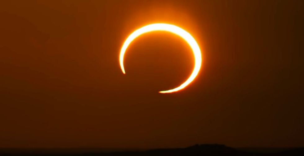 Ring of fire  solar eclipse will occur this weekend. Here s how to watch.