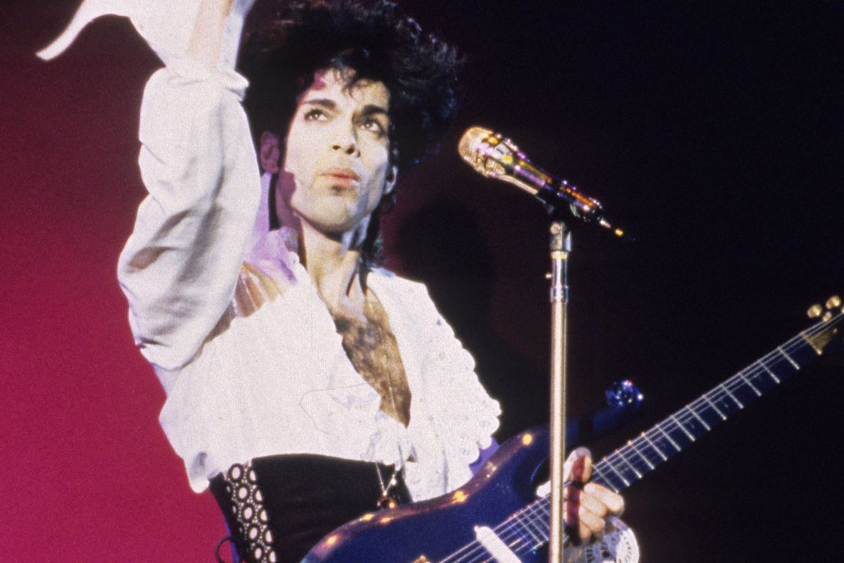 Prince's Long-Lost Guitar Sold at Auction