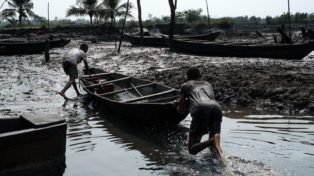 Niger Delta Still Waiting for Big Oil to Clean Up Devastating Pollution