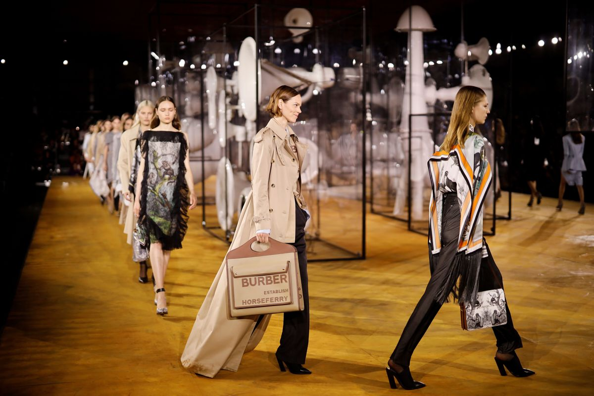 Burberry's Next Runway Show Won't Have Any Actual People Attend