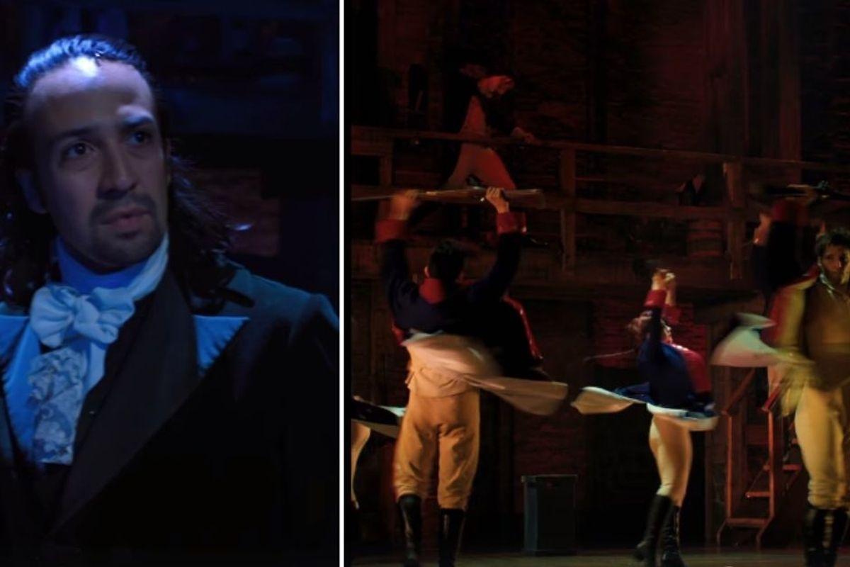 Lin-Manuel Miranda dropped the first trailer for the 'Hamilton' film last night