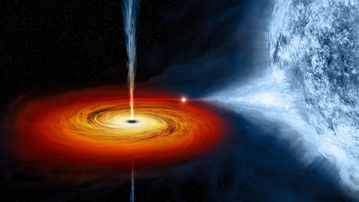 Cygnus X-1 black hole