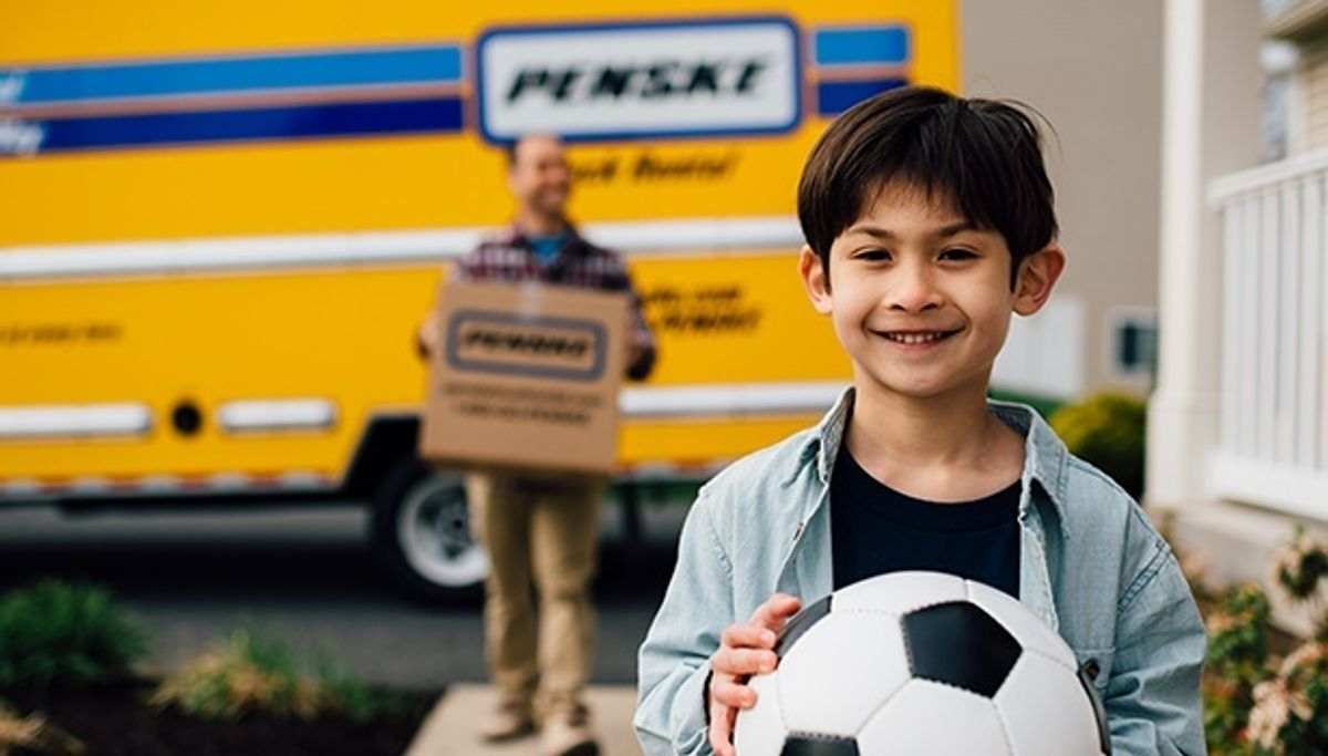 family with penske truck rental