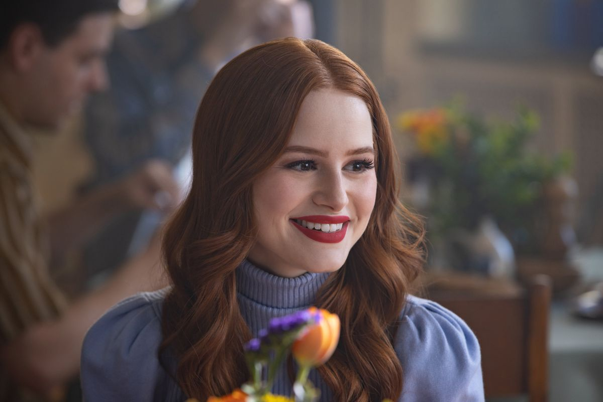 Madelaine Petsch as Cheryl Blossom from The CW show Riverdale
