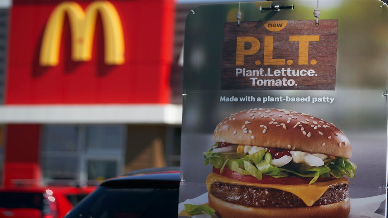 McDonald's Trial with Meatless Burger Company Beyond Meat Has Ended