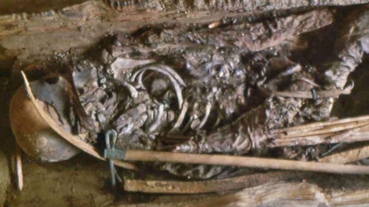 DNA shows Scythian warrior mummy was a 13-year-old girl