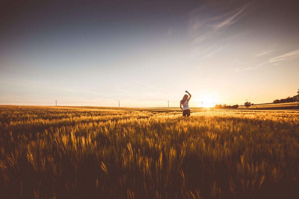 Her Way of Words: Seeking Happiness