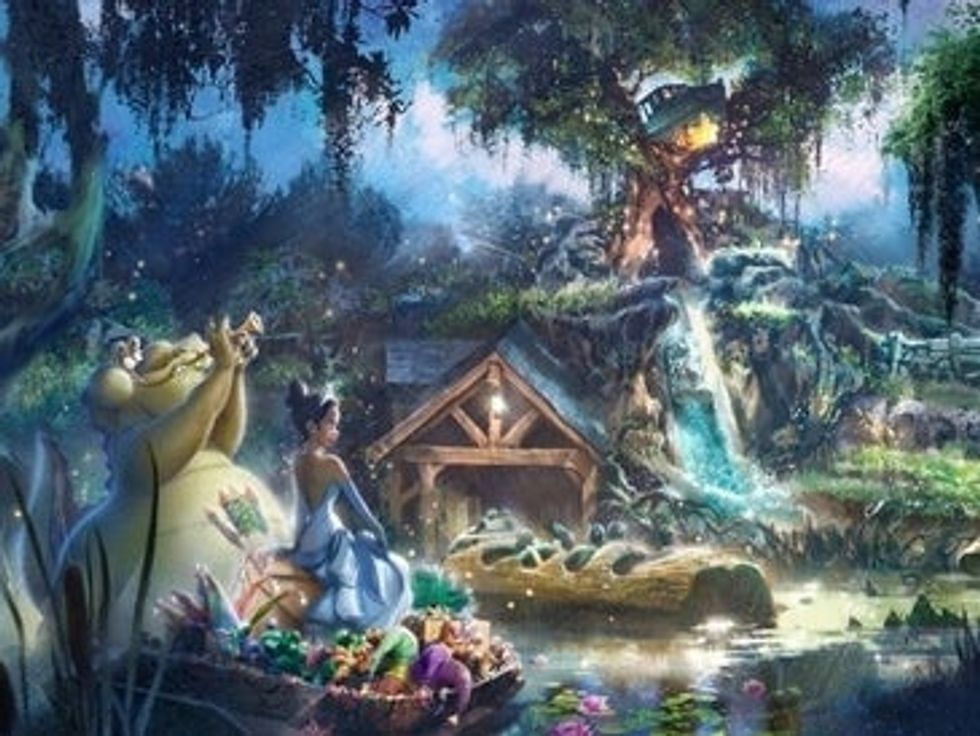 Disney Changing Splash Mountain and Gives Princess Tiana Her Own Ride In The Park