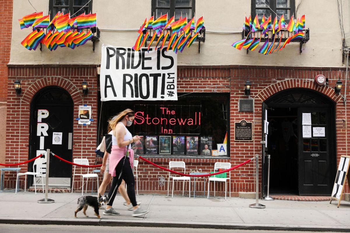 Stonewall Inn Has Been Saved