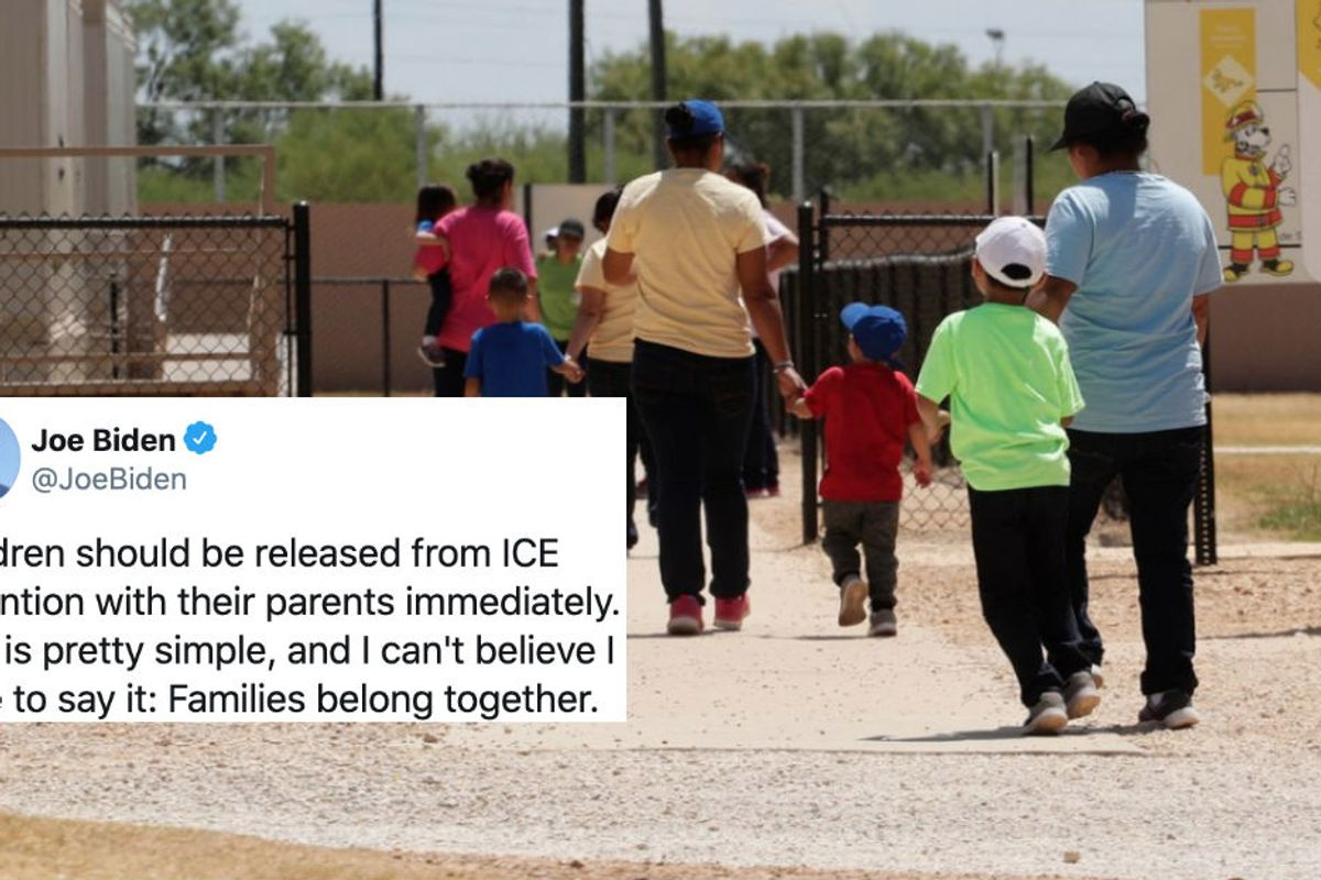 Judge orders all detained immigrant children released. But only because COVID-19 is 'on fire' in detention centers.
