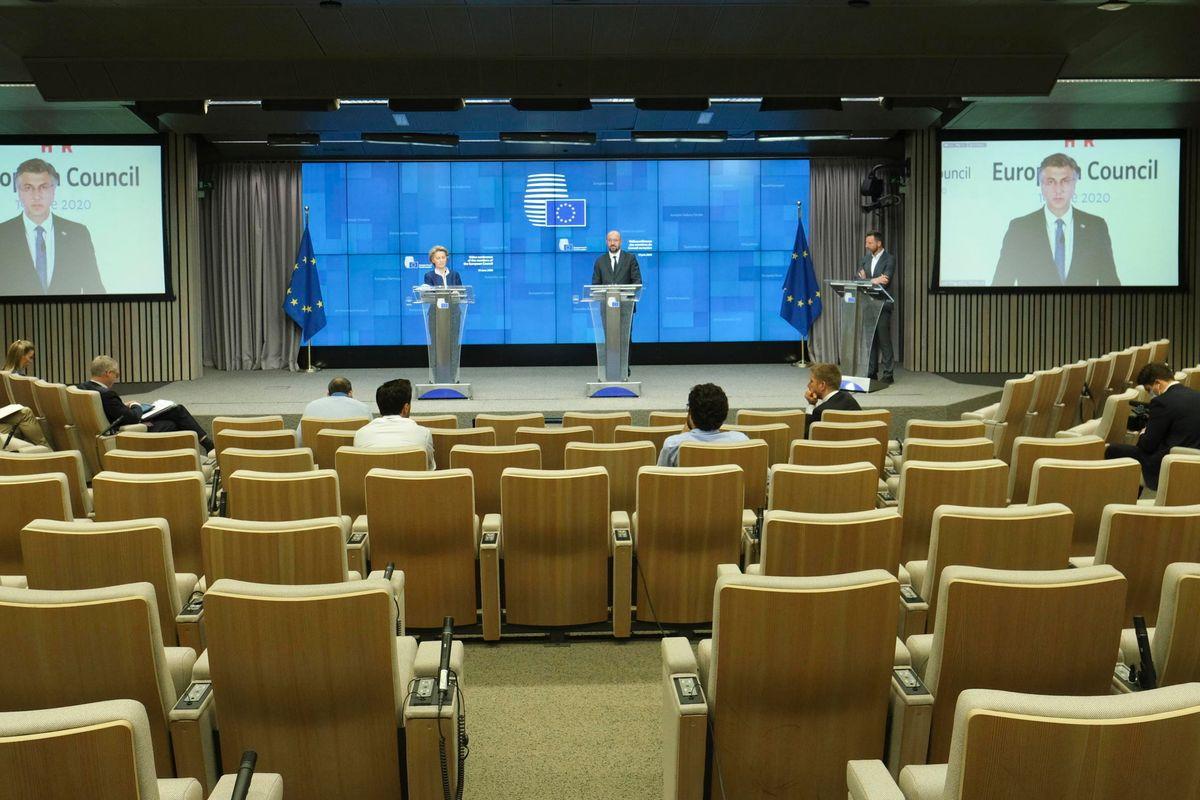 Il summit anti Covid dell'Ue è un flop. Tantissima retorica, pochi spettatori