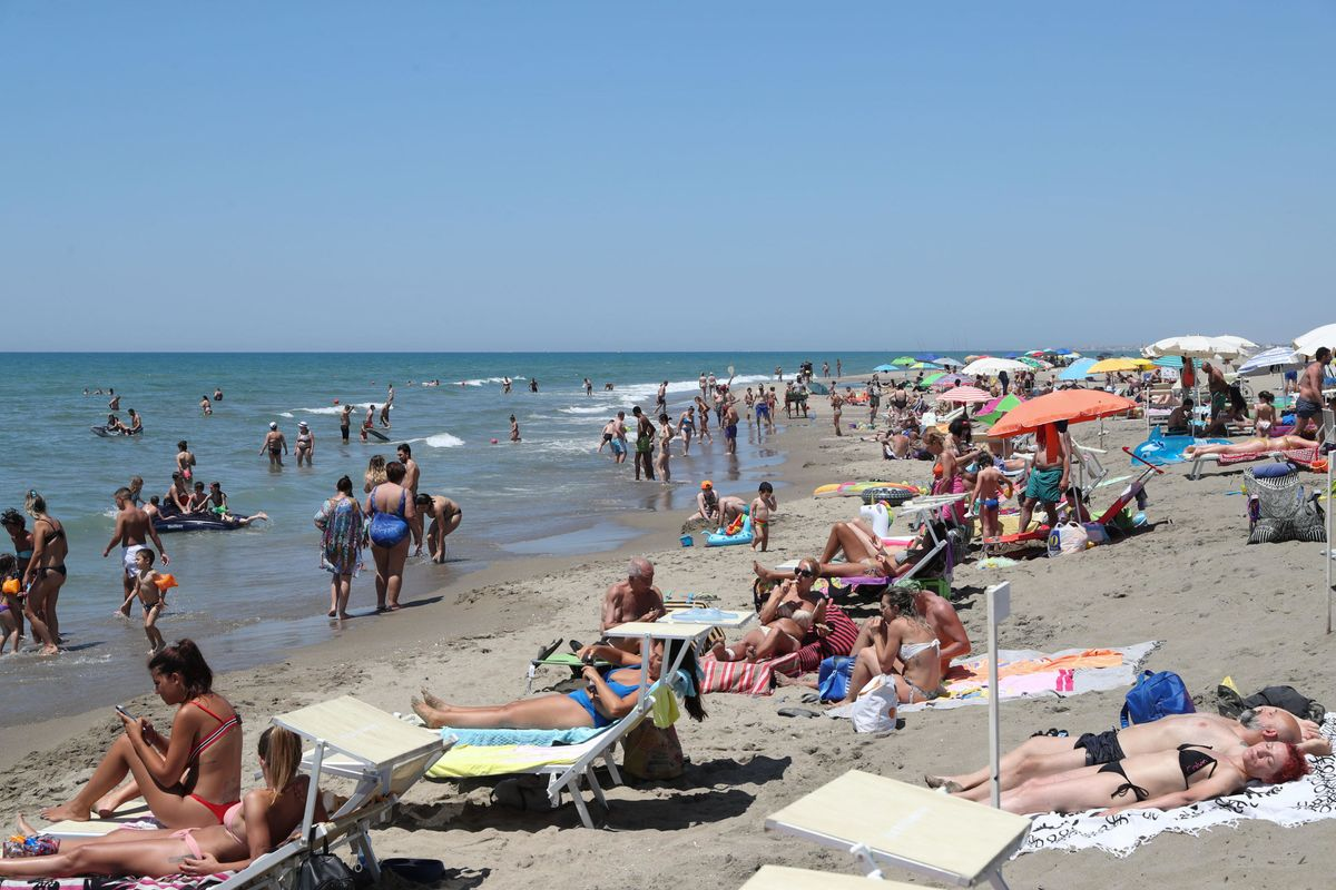 Non assillate gli italiani in spiaggia
