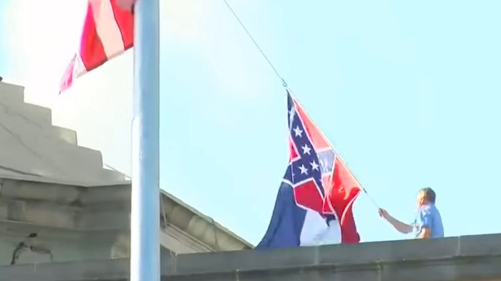 The 1894 Flag Is Coming Down And I've Never Been Prouder To Be A Mississippian