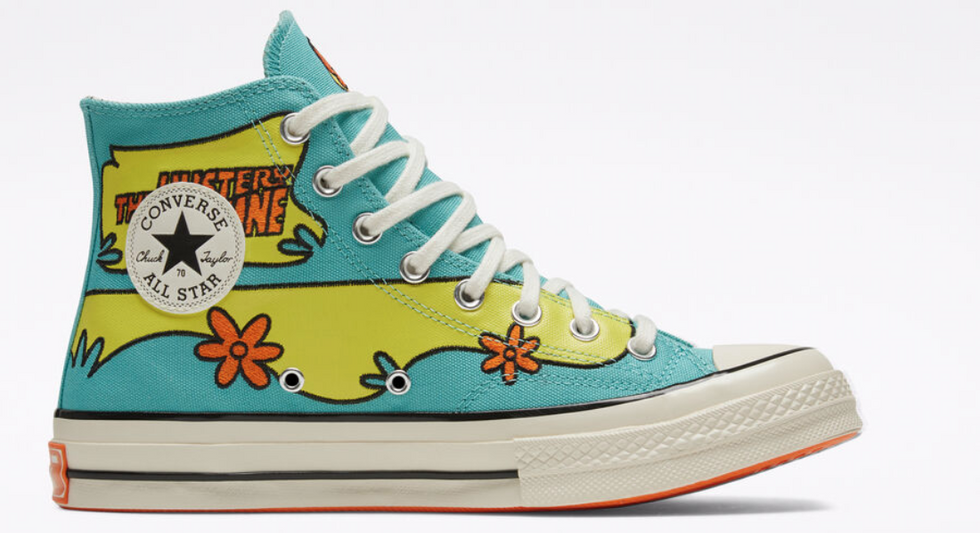 These Scooby-Doo-Inspired Converse Are The Stylish Nostalgia We All Need Right Now