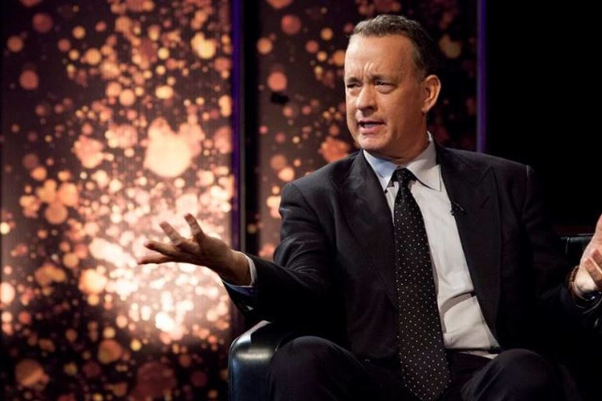 COVID-19 survivor Tom Hanks has some harsh words for people who refuse to wear a mask