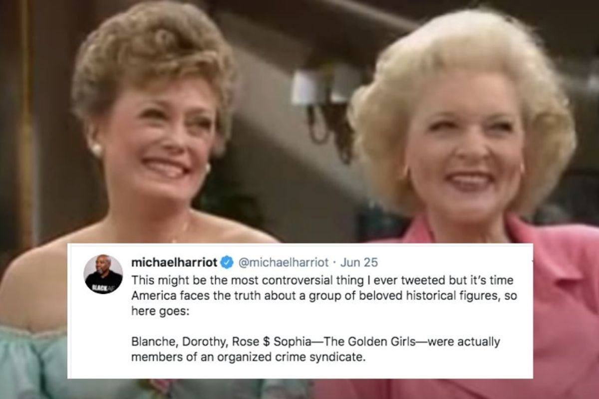 A theory that The Golden Girls were an 'organized crime syndicate' is hilariously plausible