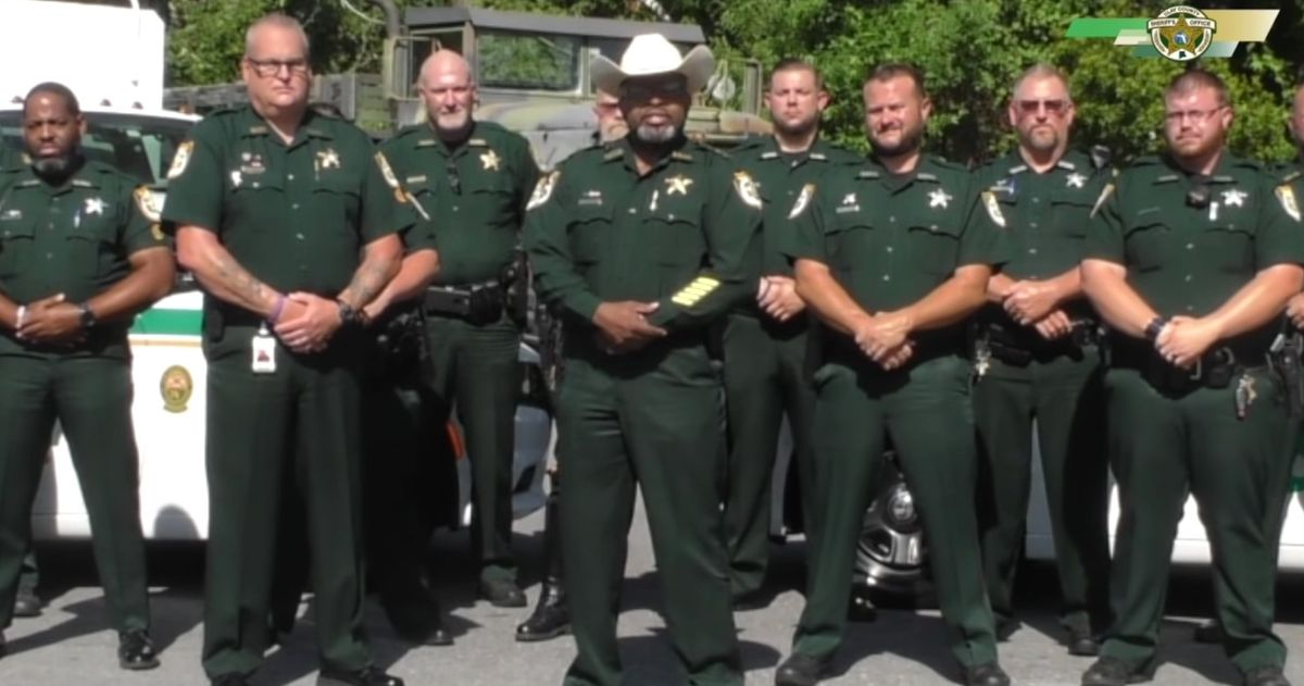 Black Florida sheriff has a message for would-be rioters: I will deputize gun owners if you think you can bring your lawlessness here