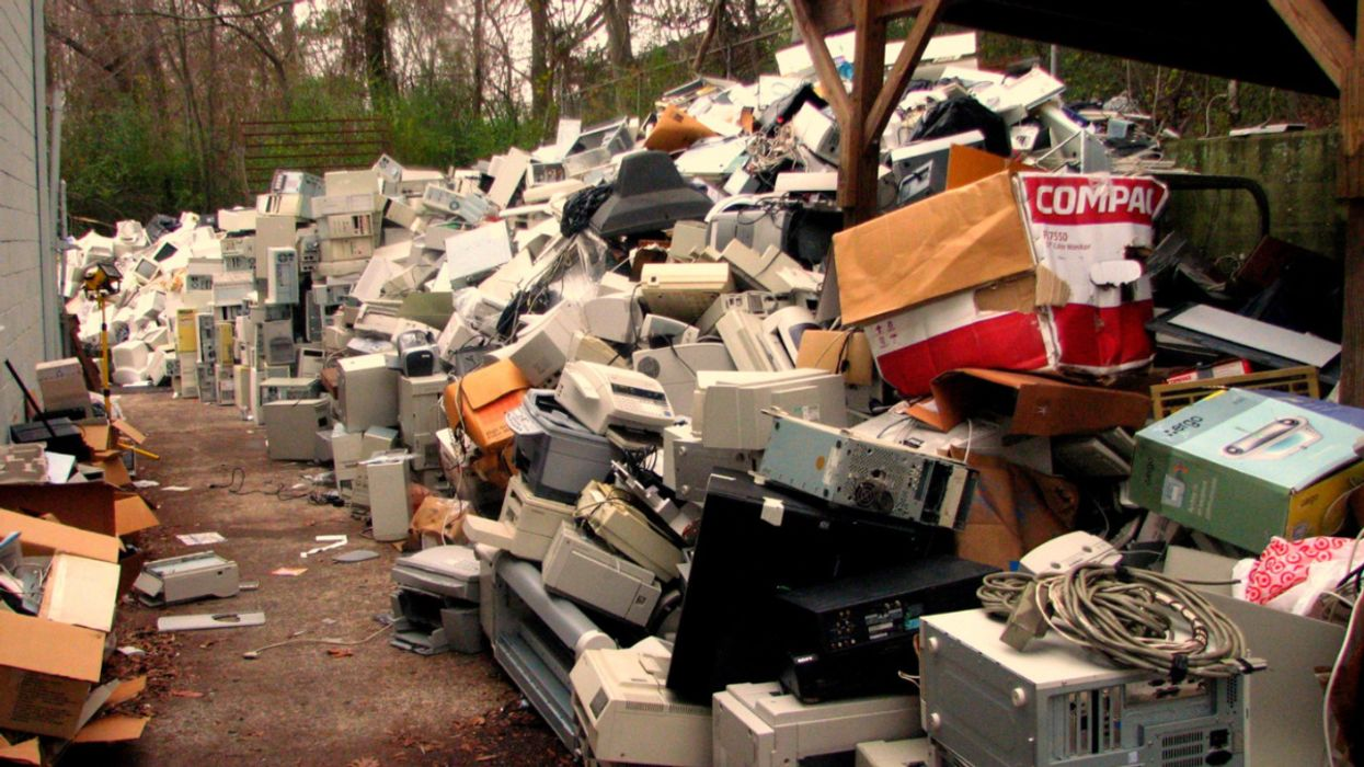 Electronic Waste Reaches Record Levels, New Report Finds