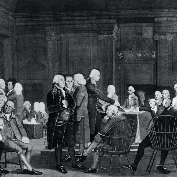 'Absolved from all Allegiance to the British Crown': Congress declares American independence