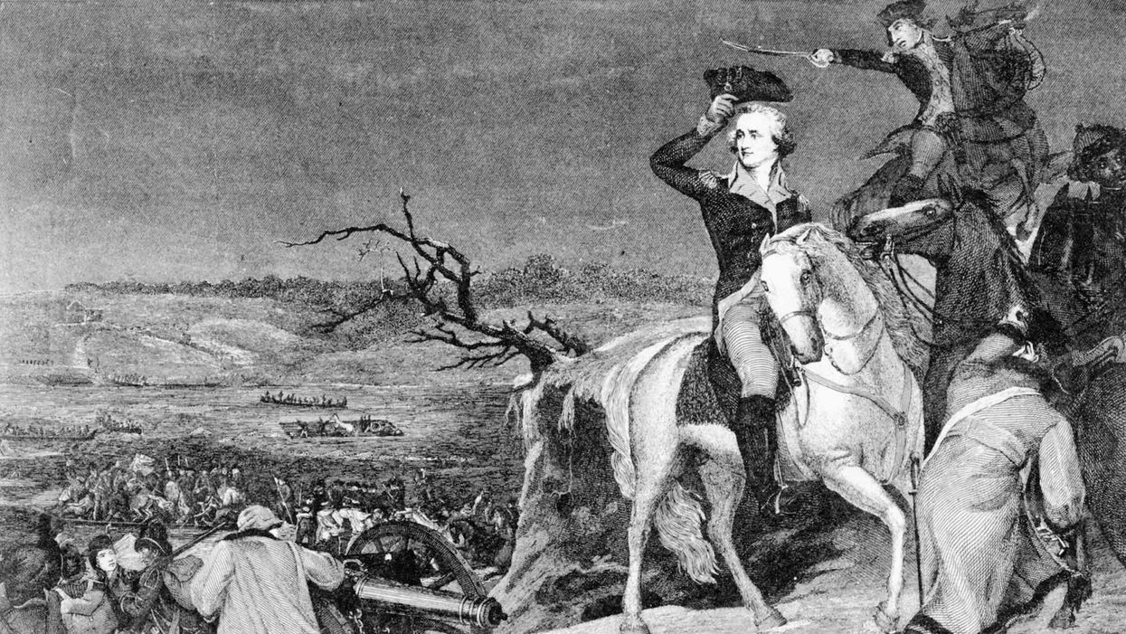 In crucial turning point, Washington and troops claim victory in two battles near Trenton