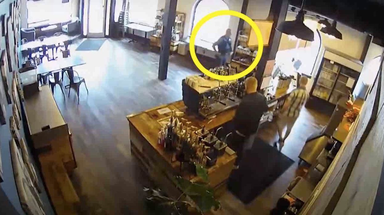 'F*** Kate Brown': Video seems to show Oregon state trooper defying governor's mask order in coffee shop. Trooper later placed on leave.