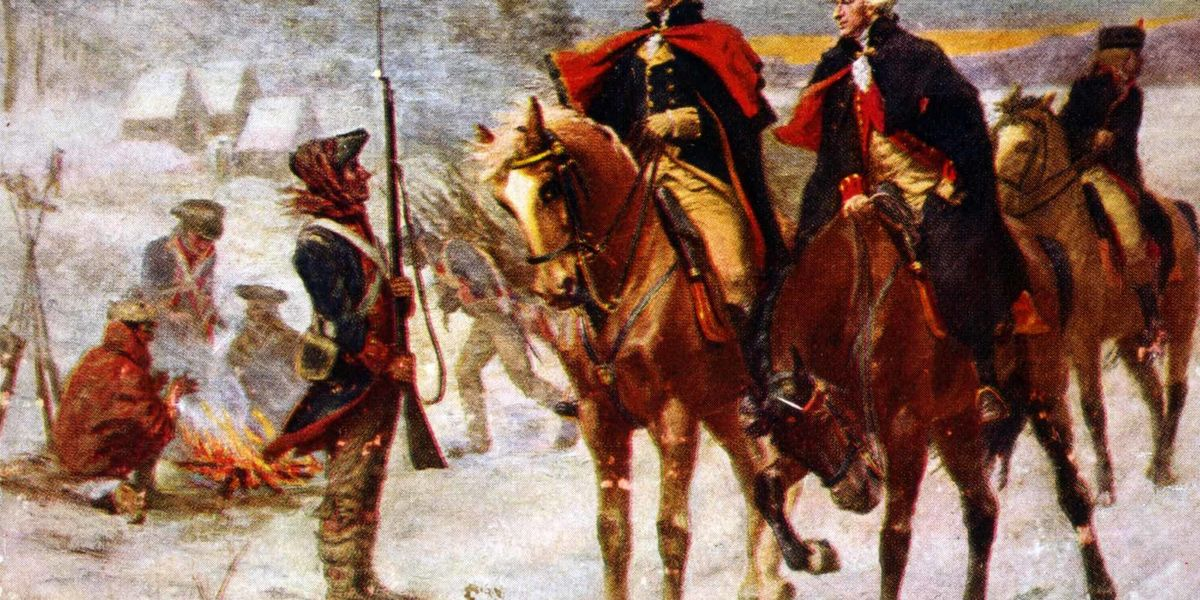 Shocking details of starvation, disease, lack of clothing as troops emerge from Valley Forge