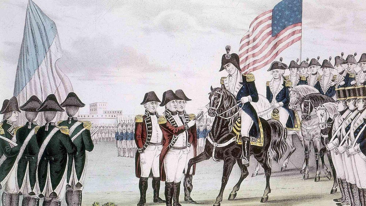 BREAKING: Cornwallis surrenders in Yorktown; end of war may be in sight