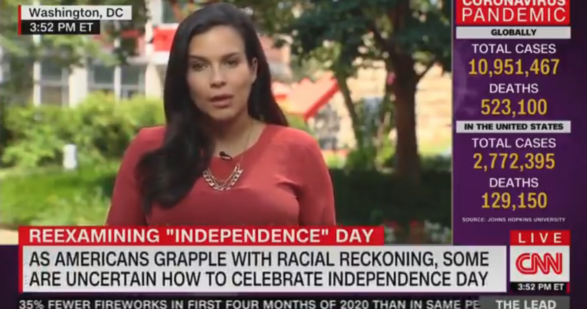 CNN reporter calls Mt. Rushmore a 'monument of two slave owners' on land 'wrestled away from Native Americans'