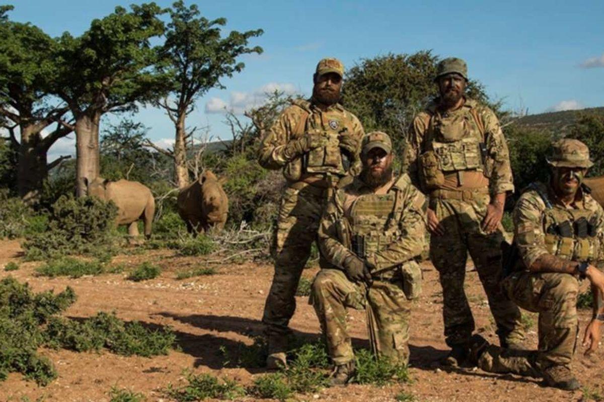 U.S. Marine veteran started 'VETPAW' to combat animal poachers in Africa