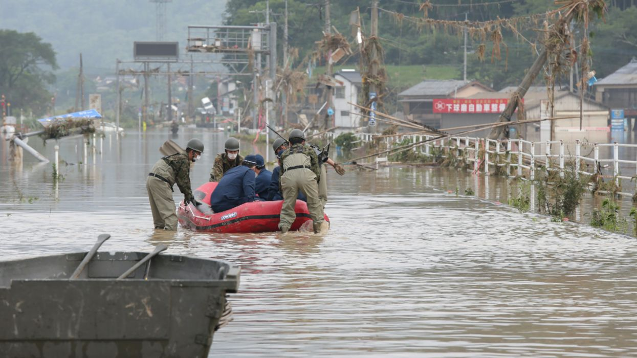 Severe Floods in Japan Kill at Least 34 People