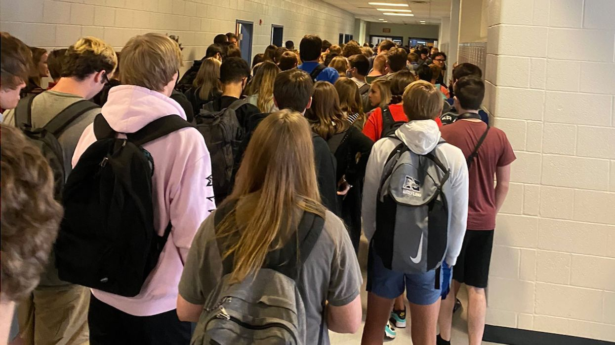 As Schools Reopen, Georgia Students Suspended for Blowing the Whistle on Crowded Hallways