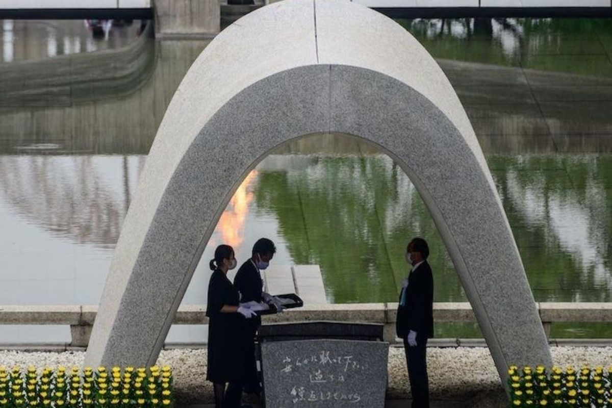 Hiroshima mayor warns that 'self-centered nationalism' could lead to nuclear disaster