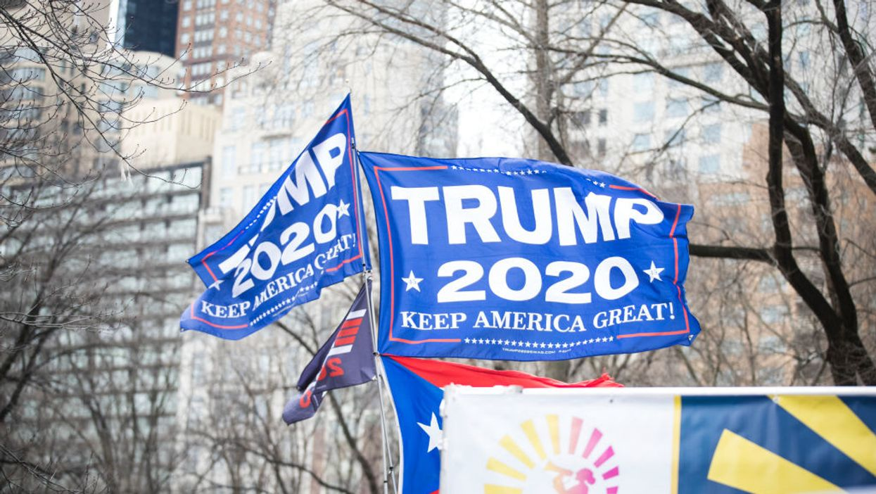Man says he was beaten for flying 'Trump 2020' flag at campground