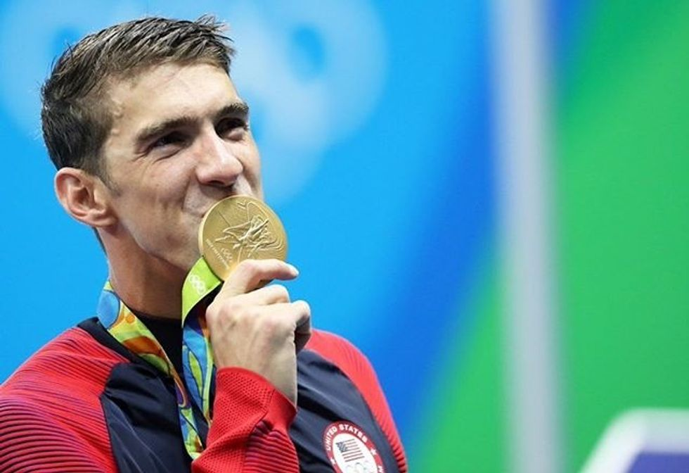 Michael Phelps' Therapy Experience Is A Great Reminder That Mental Illness Doesn't Skip Athletes