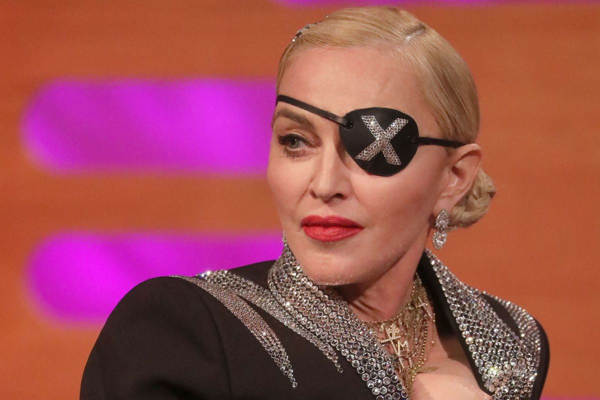 Madonna's Working on a Screenplay