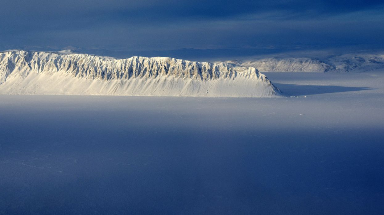 Canada's Last Intact Ice Shelf the Size of Manhattan Collapses Due to Global Warming