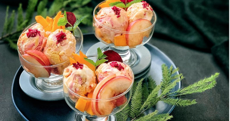 This Traditional Georgian Family Peach Ice Cream Recipe Actually Left Me S(peach)less