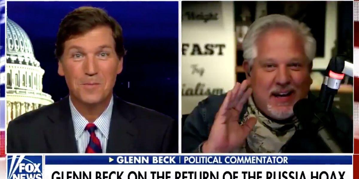 Glenn Beck dismantles the mainstream media's election narrative — and stuns Tucker Carlson