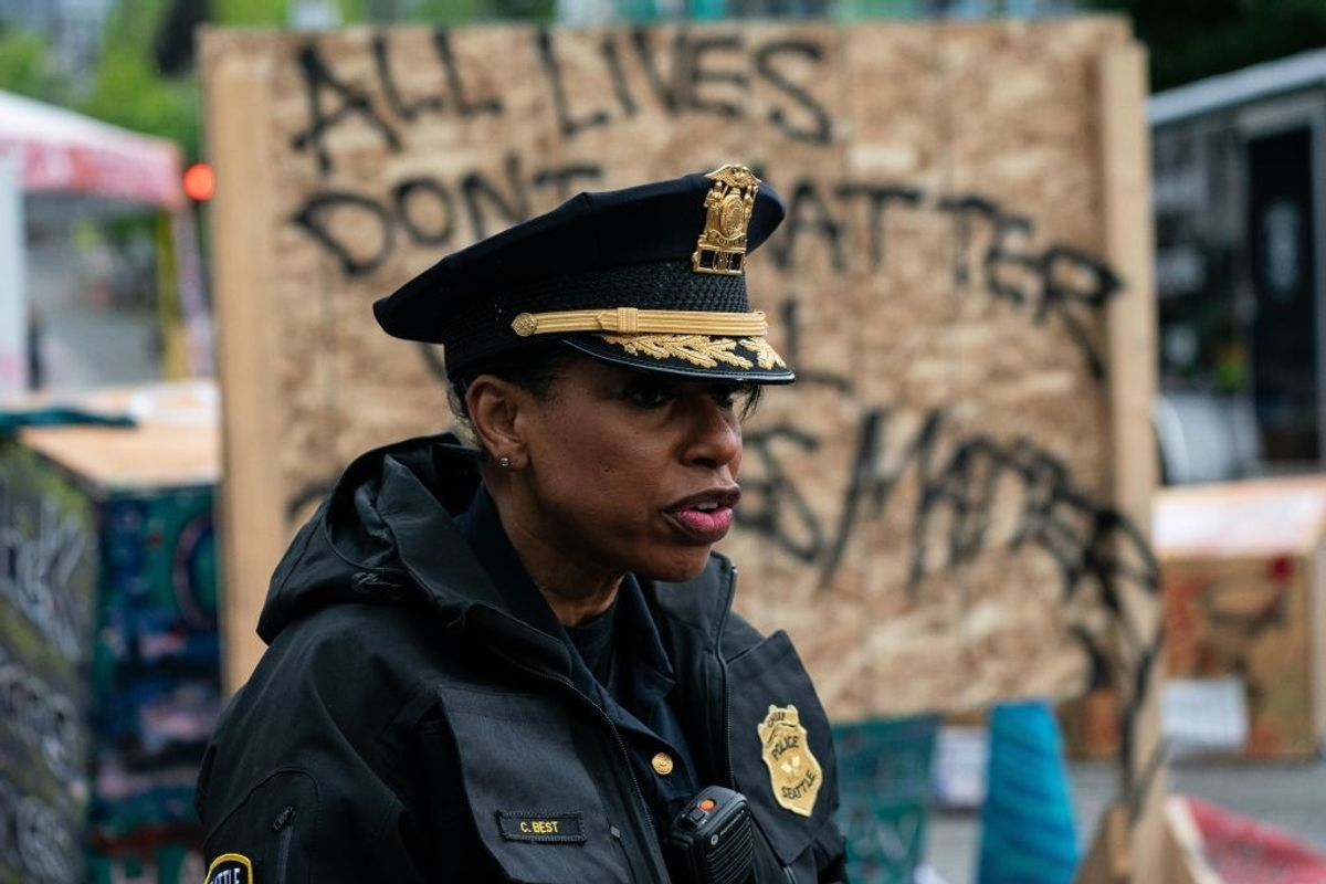 Seattle police chief resigns after city council votes to slash police budget and cut up to 100 officers