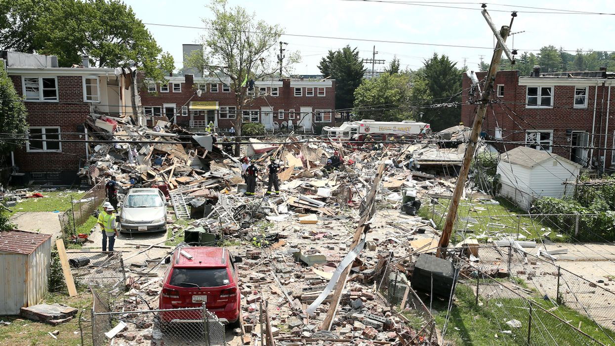 'Major Gas Explosion' Kills 2, Injures 7 in Baltimore