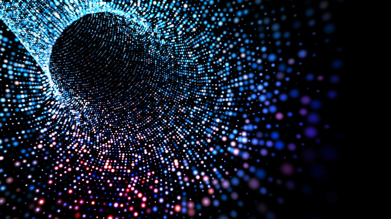 Quantum particles timed as they tunnel through a solid