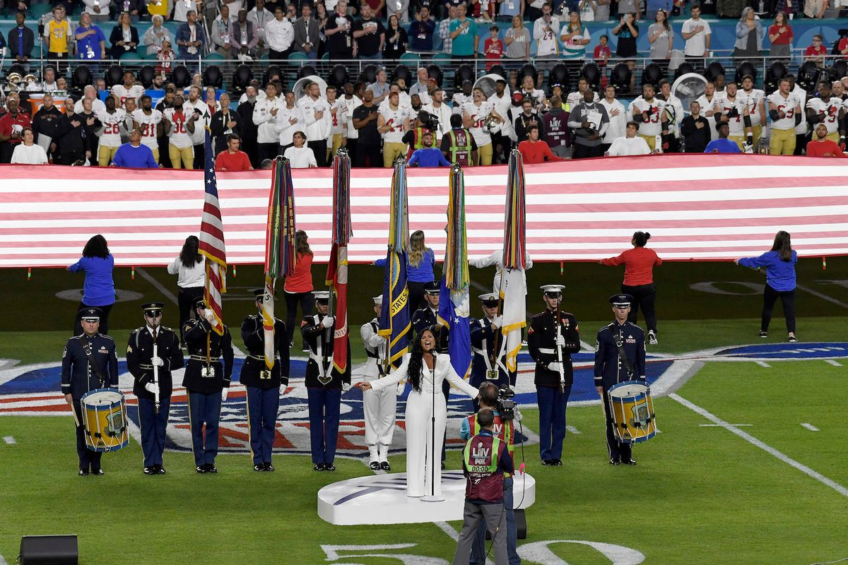 NFL won't have live national anthem performances, may bar military and police honor guards from field