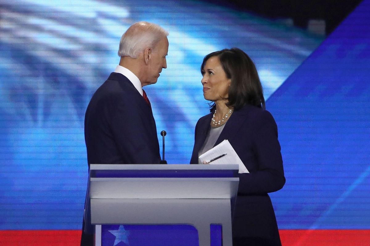 Biden Picks Kamala Harris as Running Mate