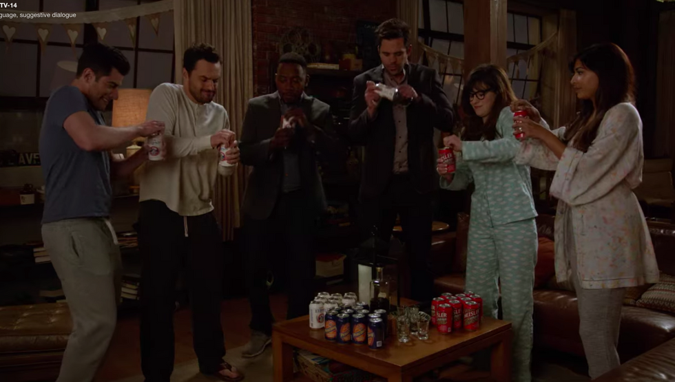 The 7 Stages Of Starting A New Semester, As Told By New Girl