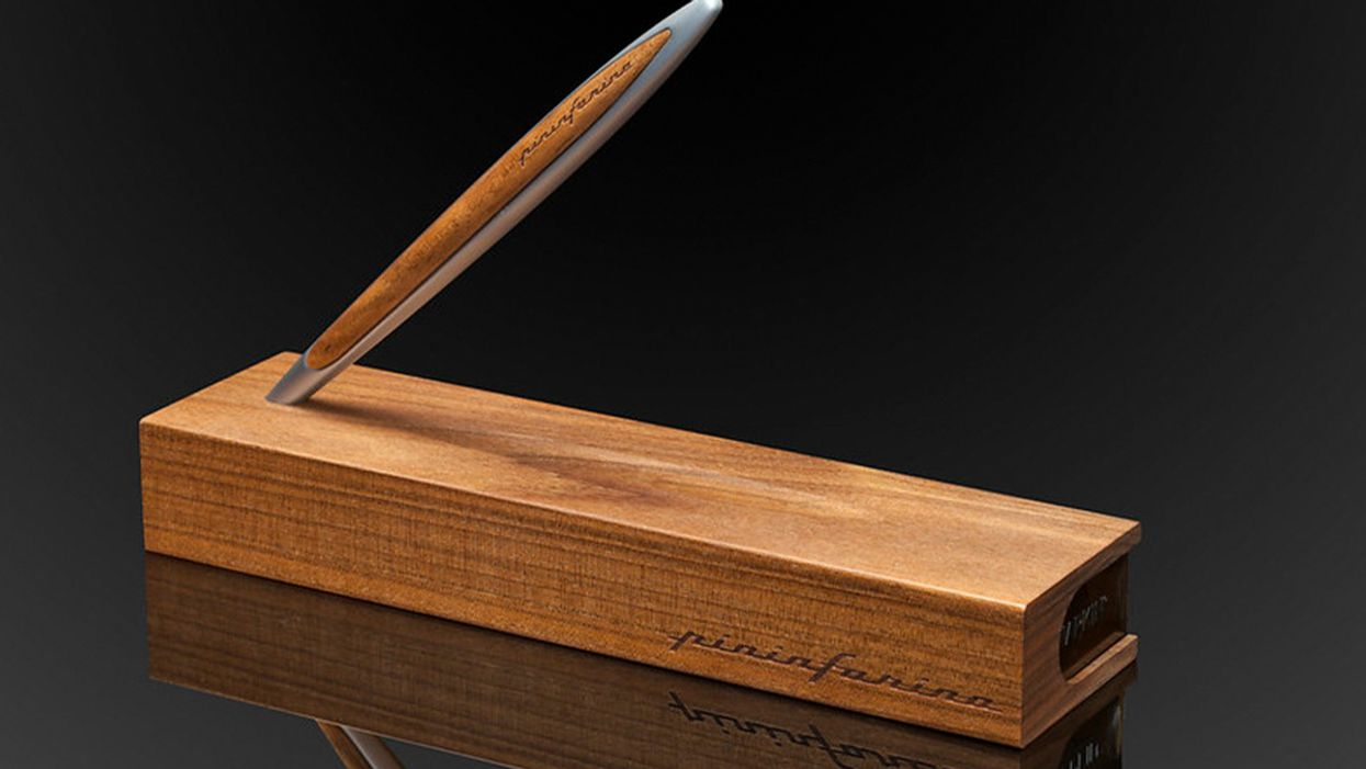 Write in style for life with this 100% inkless wooden stylus