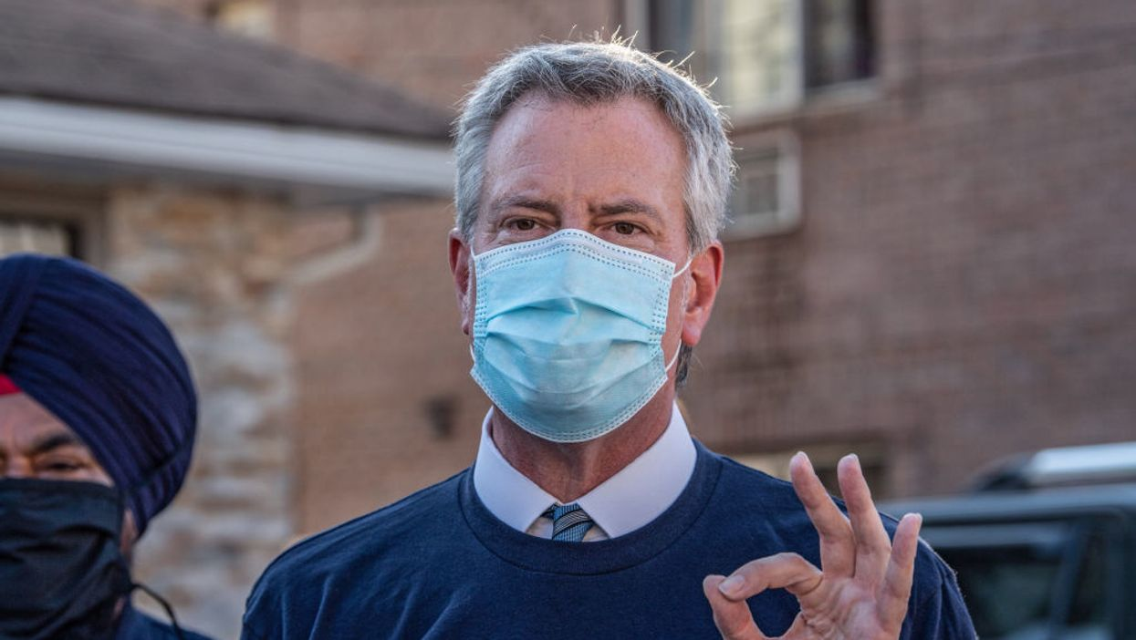 Mayor de Blasio threatens laying off 22K NYC workers if the federal gov't doesn't bail him out — it's 'painfully real'